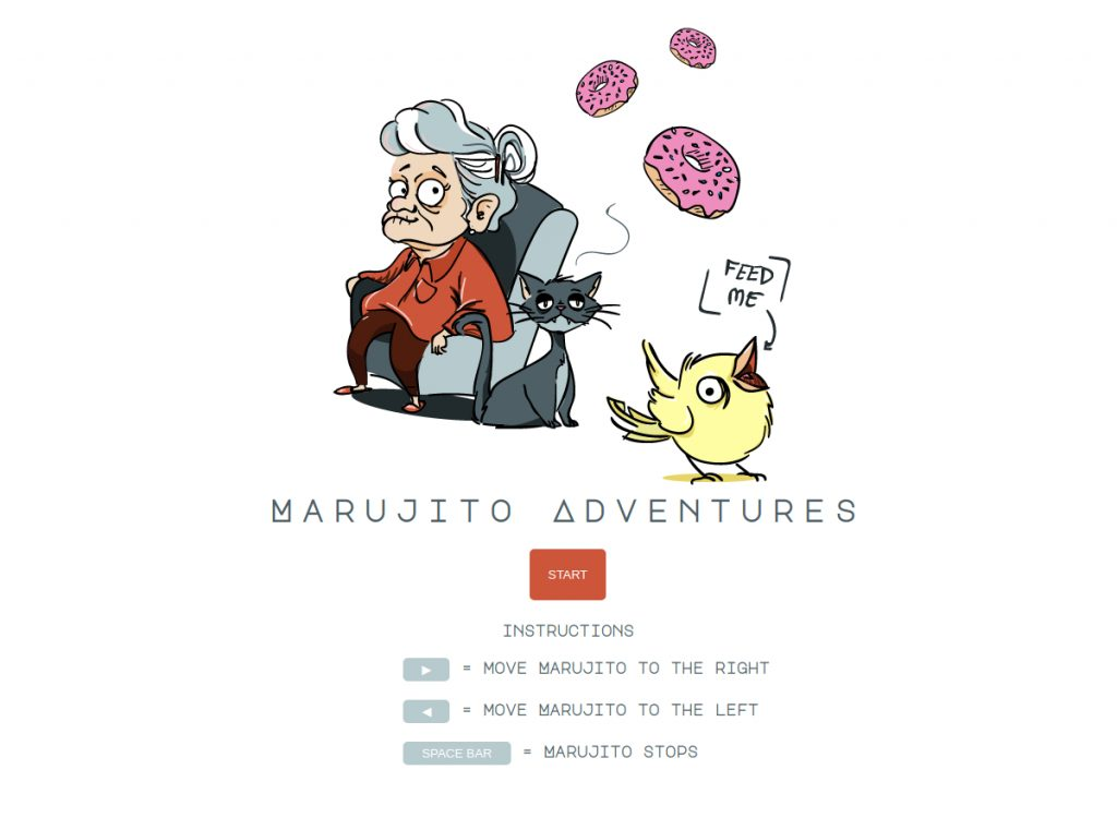 Marujito Adevntures Game Cover
